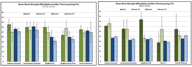 Marginal integrity of posterior resin composite fillings bonded with universal adhesives to enamel and dentin before and after thermo-mechanical loading